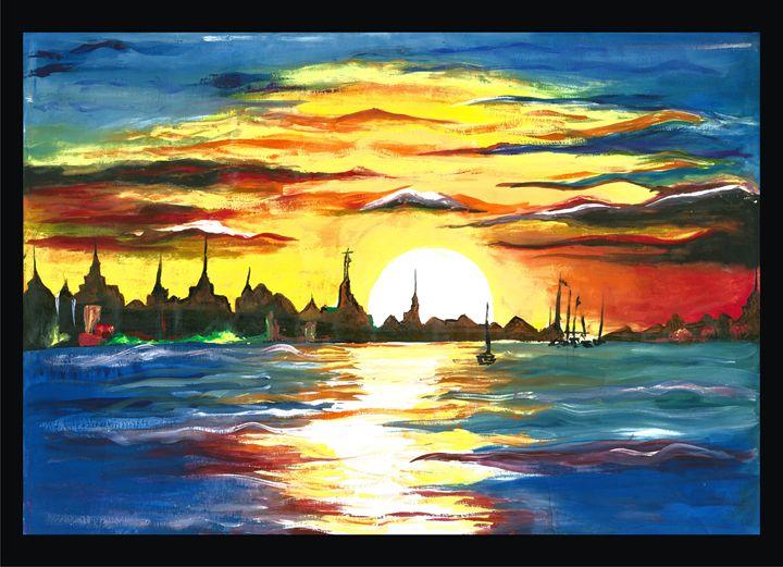 The rising sun - Abhishek