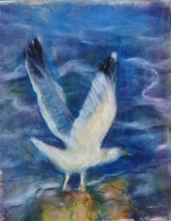 The seagull and the sea - Avag Avagyan