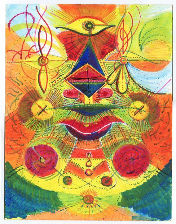Mask Series Original Artwork - Ricardo Cluet Artworks