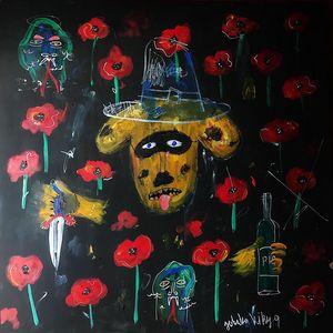 """Kirill Burigin """"Poppy field"""""""