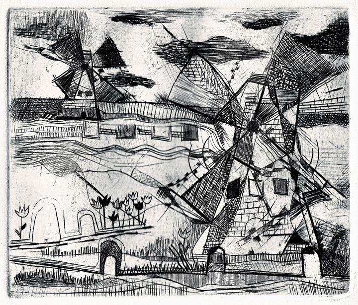 Windmills - william calkins