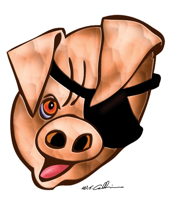 Pirate Pig - william calkins