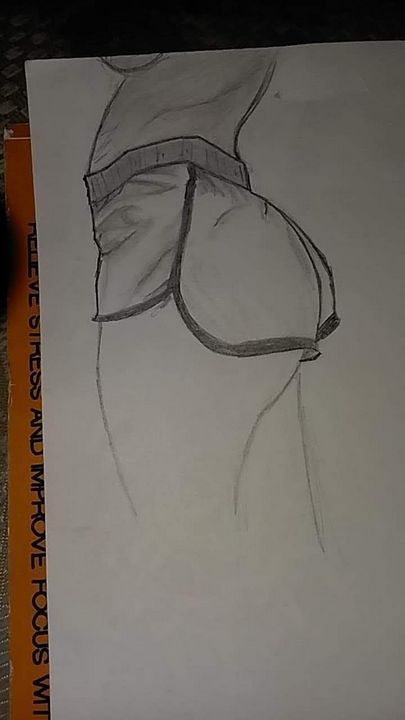 Buttocks - Amber Lynn
