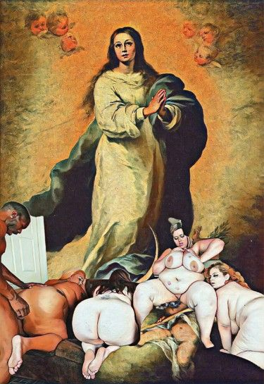 Santa Maria why not her? - myarasmfreeart