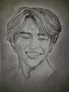 BTS' Jimin - Tom Bathrick Art & Sketch