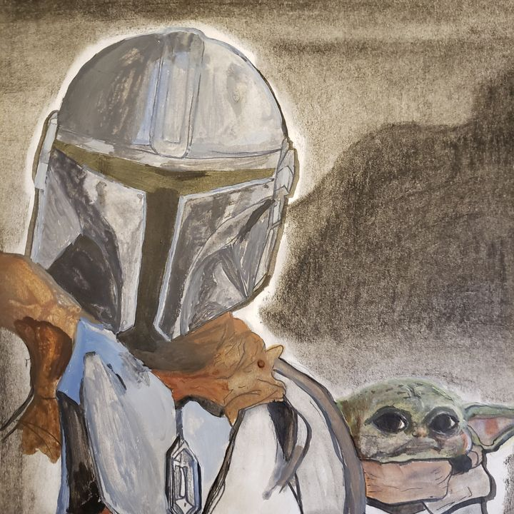 Mandalorian - Tom Bathrick Art & Sketch