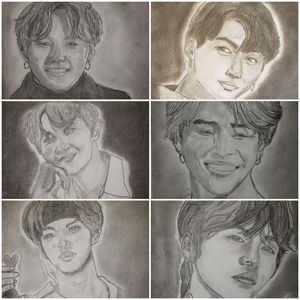 BTS series - Tom Bathrick Art & Sketch