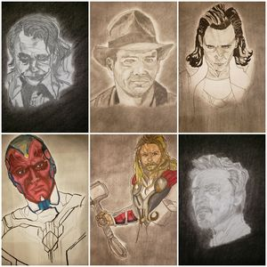 Collection of Drawings from Gallery