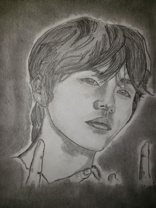 BTS' Jin - Tom Bathrick Art & Sketch