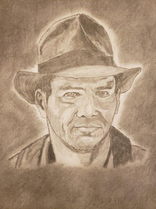 Indiana Jones - Tom Bathrick Art & Sketch