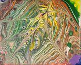Original Abstract acrylic pour