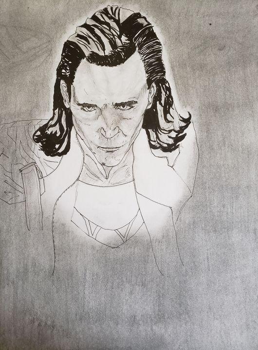 Loki - Tom Bathrick Art & Sketch
