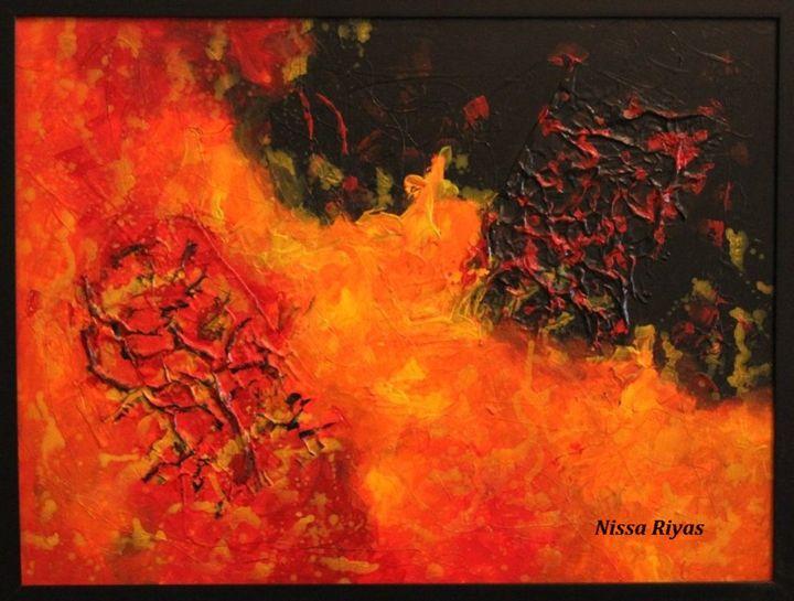 inferno - nissa riyas the artist
