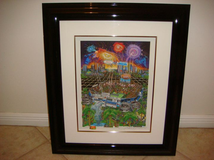 Charles Fazzino Super Bowl XLI - Art World