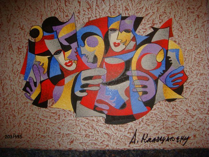 Anatole Krasnyansky seriolithograph - Art World