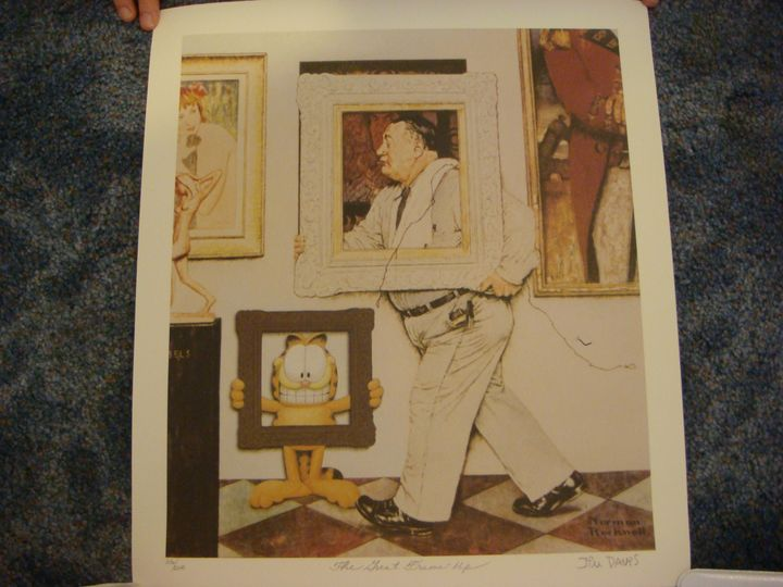 The Great Frame Up - Norman Roclwell - Art World