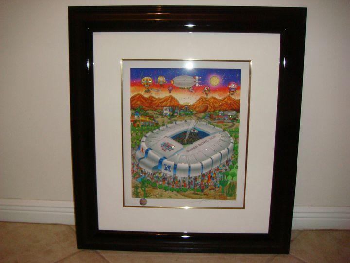 Charles Fazzino Super Bowl XLII - Art World