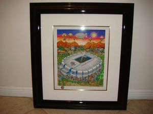 Charles Fazzino Super Bowl XLII