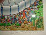 Charles Fazzino Super Bowl Art