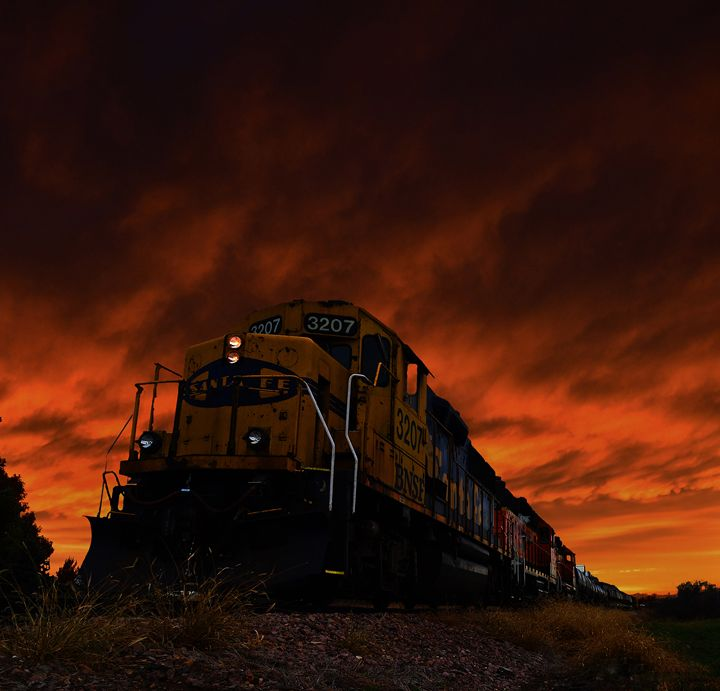Runaway Train - Dakota Wall Art