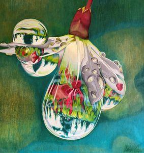 Rain Flower - Allen's Artwork