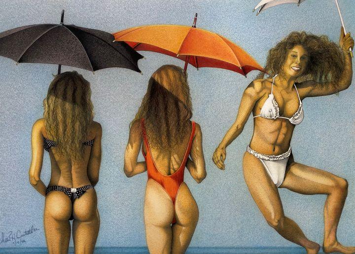 Bikini Umbrella - Allen's Artwork