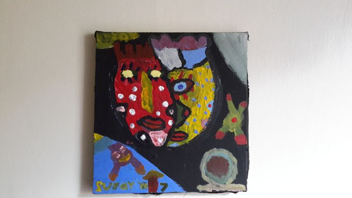 ABSTRACT ART - SUJOY