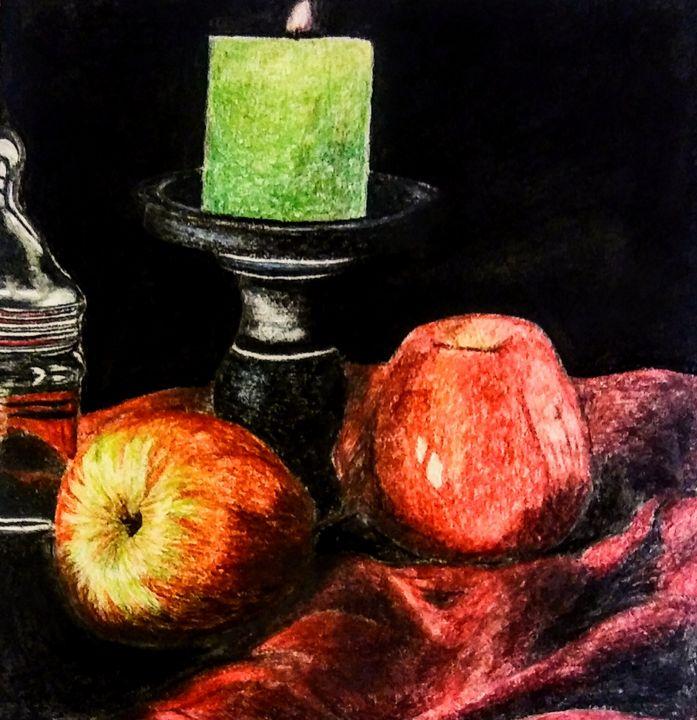 Apples Still Life - HIRIN