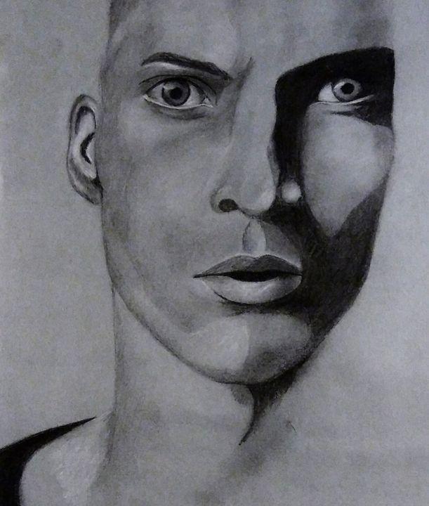 Charcoal Man - HIRIN