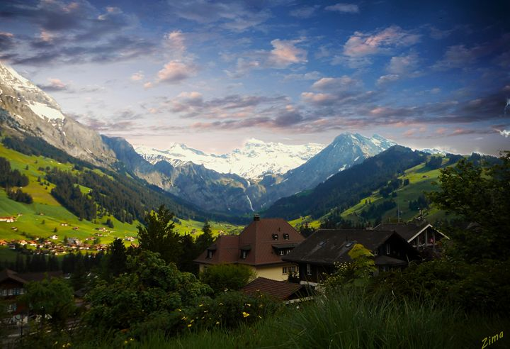 The Beauty of Switzerland - Zima