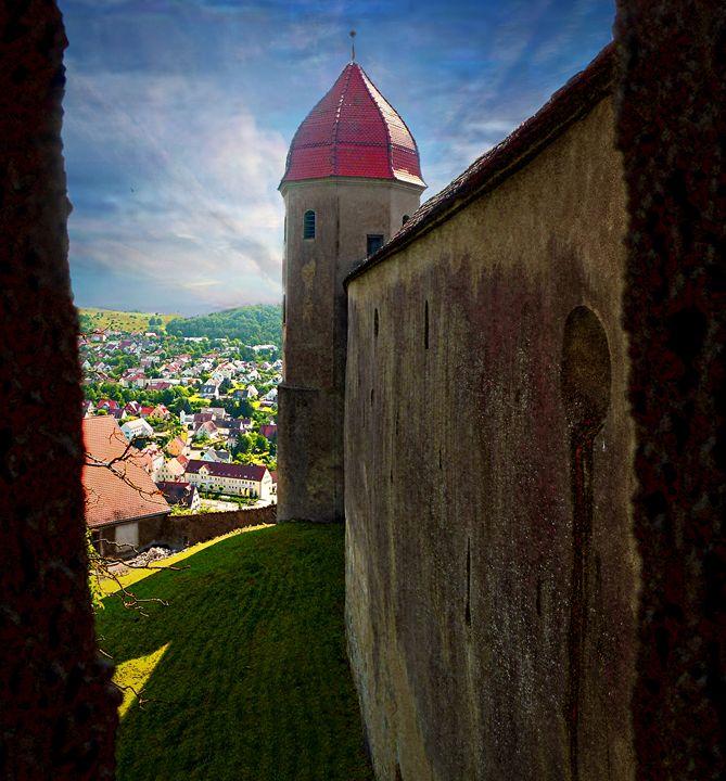 Framed Village - Zima