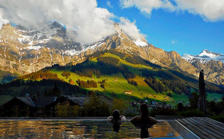View in Switzerland - Zima