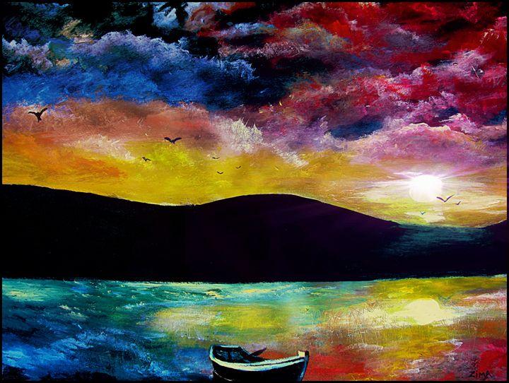 Water Colors - Zima