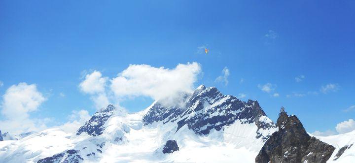 Top of Jungfrau, Switzerland - Zima