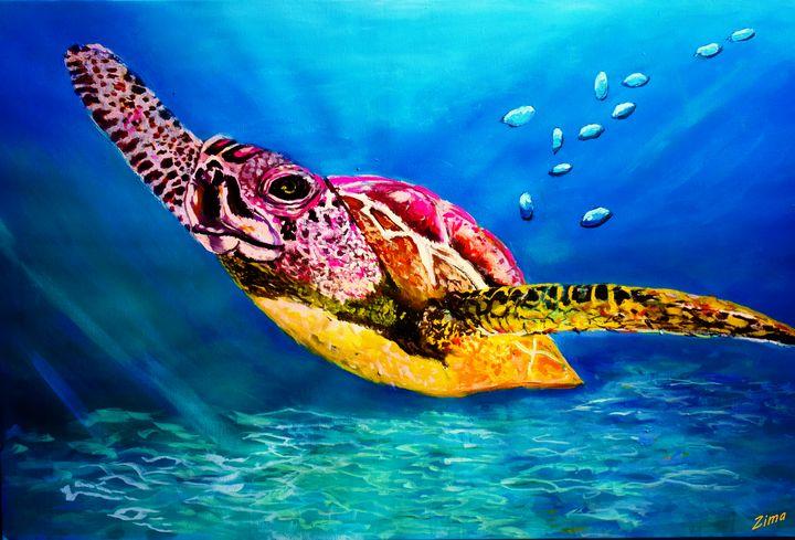 Sea Turtle Delight - Zima