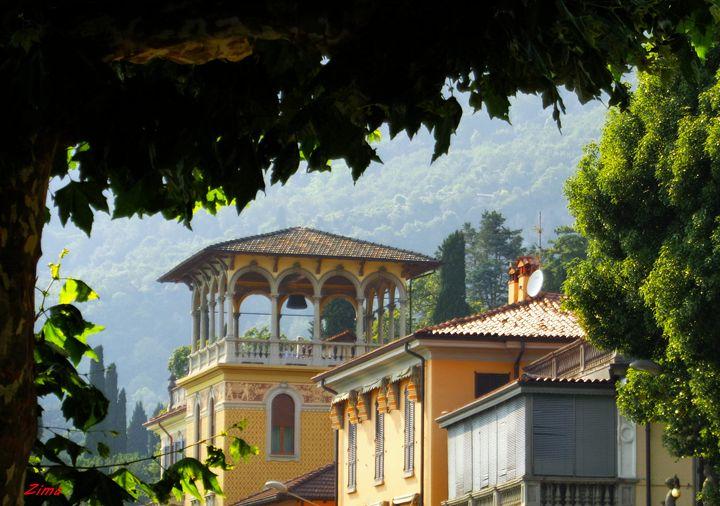 Tremezzo, View - Zima