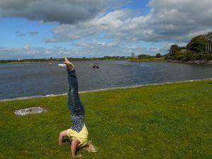Standing on My Head in Ireland - Zima