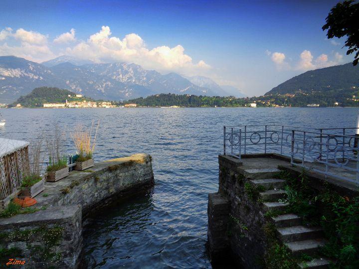 Lake Como, Italy - Zima