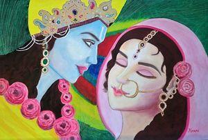 Radha Krishna ( Divine Love )