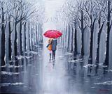 original, gallery wrap,oil painting,
