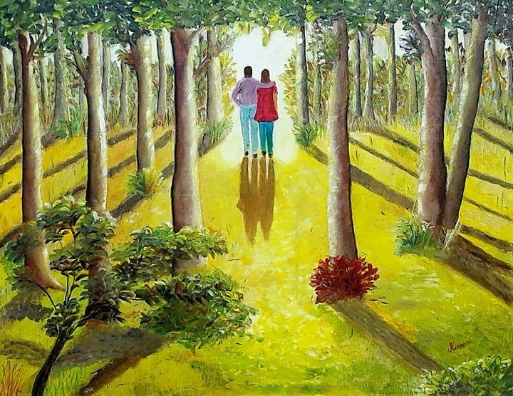 Lets walk together - Kinnari