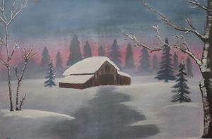 A winter evening!