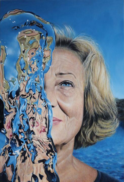 Portrait of My Mothers - Aqua