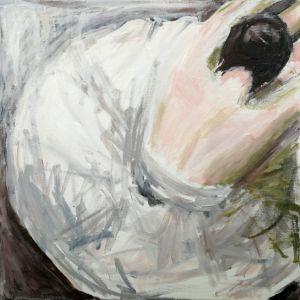 Stretching ballerina - Agnes Beganyi