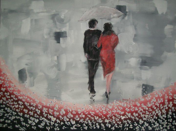 Lady in Red - Raymond Doward