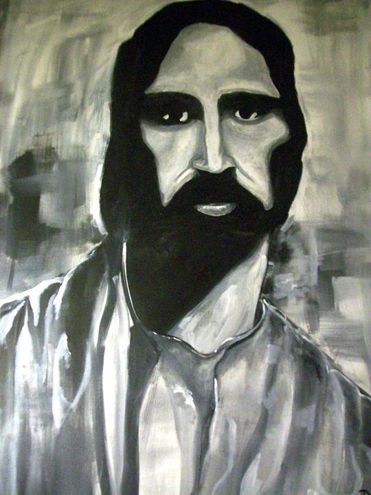 Jesus Pop Art Painting - Raymond Doward