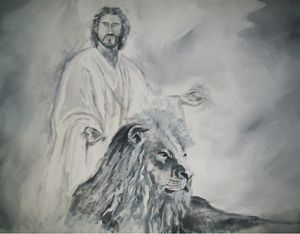 The Lion and Christ the Lamb