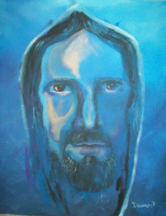 Jesus at Night - Raymond Doward