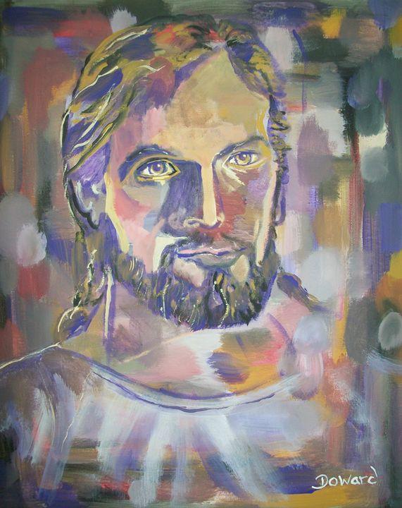 Abstract Christ - Raymond Doward