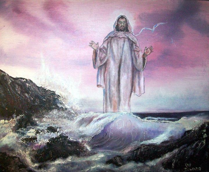 Christ Walking on the Water - Raymond Doward